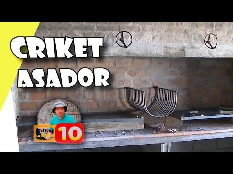 Cricket para asador de barbacoa