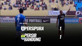 [Pekan 25] Cuplikan Pertandingan Persipura vs Persib Bandung, 15 Oktober 2018