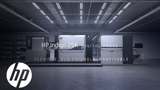 HP Indigo 25K Digital Press: Flexible, Eco-Friendly & Profitable | HP Indigo Digital Presses | HP