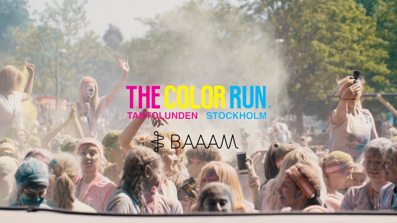 The Color Run 2020.The Color Run 2017 Stockholm