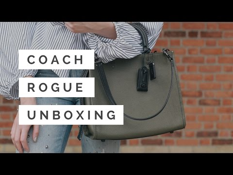 COACH ROGUE Bag Unboxing + First Impressions || Nataliastyle