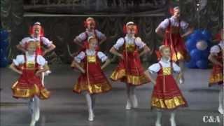 """Russian dance """"Веселый Пляс"""" Грация г. Чехов Роза ветров"""