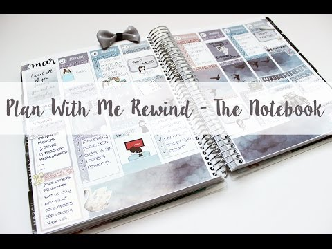 Plan With Me: Rewind | The Notebook Collection