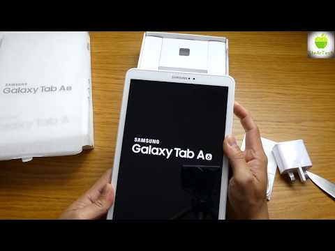 Samsung Galaxy Tab A 2016 10.1 Unboxing. Midrange affordable tablet.