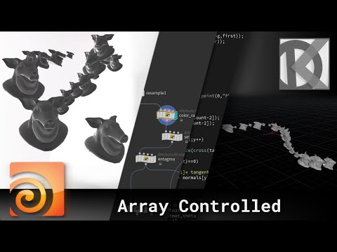 Array Controlled Animation in Houdini