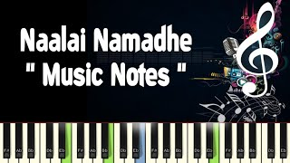 Naalai Namadhe Piano Notes, Midi File, Music Sheet & Karaoke