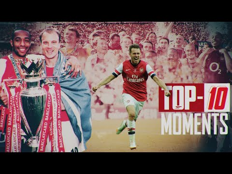 Ranking the Top 10 Arsenal moments of all time!   The Invincibles, Wenger, Henry, Ramsey & more