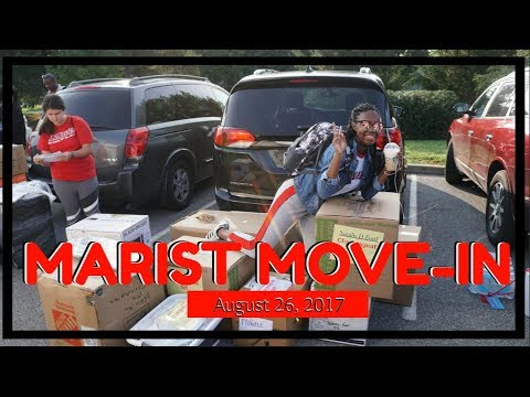 MARIST COLLEGE MOVE-IN DAY