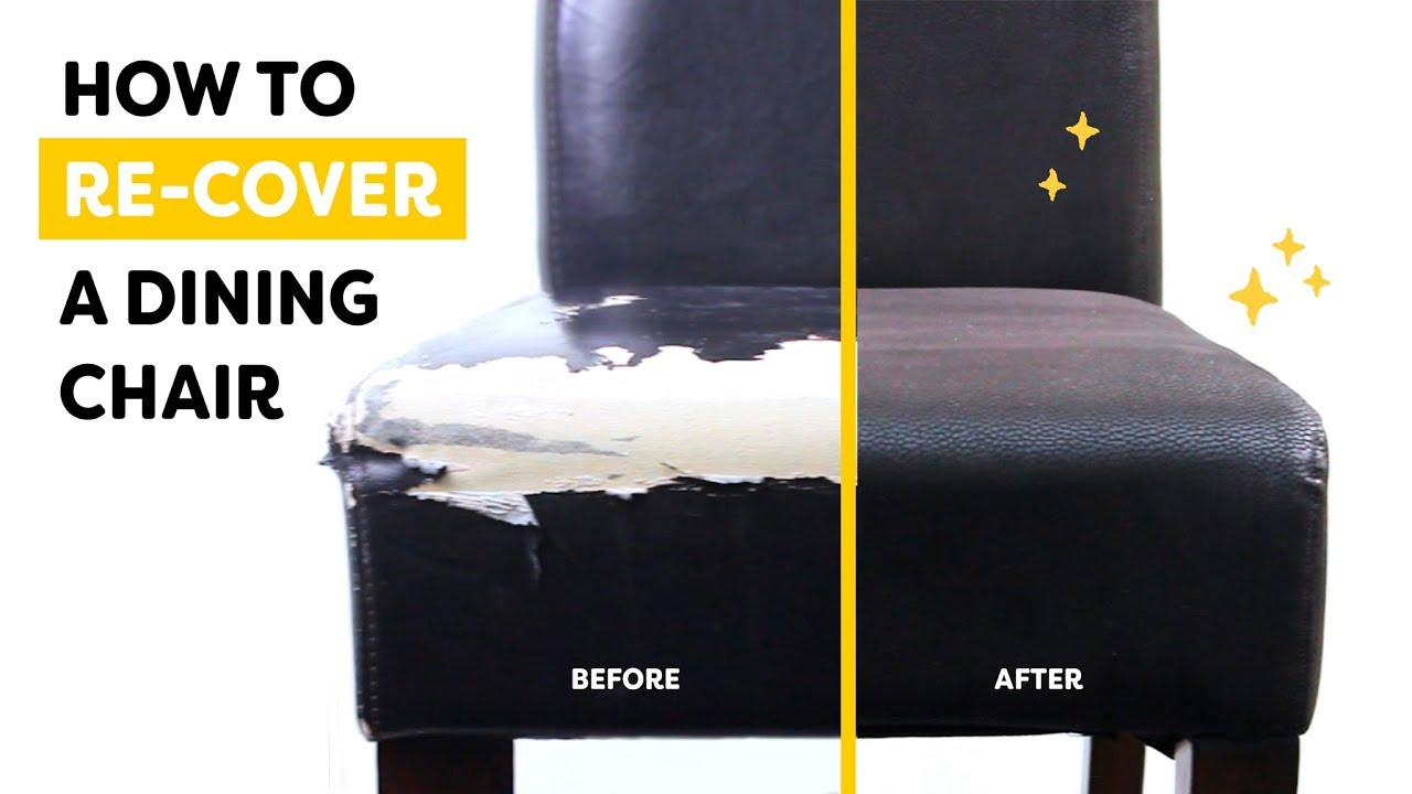 How To Change The Covers On Your Dining Room Chairs Youtube
