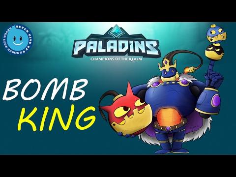 Paladins Bomb King Gameplay! REVENGE FOR ALL MY LOSSES! (OB43)