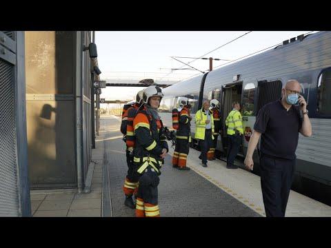 04.06.21 Røgudvikling fra passagertog på Korsør Station