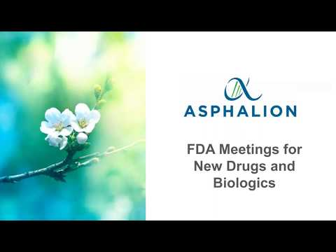 FDA Regulatory Affairs Webinar - Asphalion
