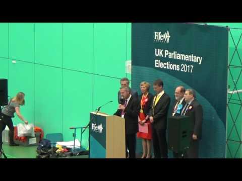 Kirkcaldy & Cowdenbeath General Election Declaration