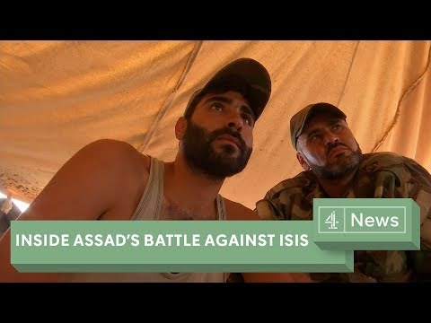 Inside Assad's battle to defeat I.S. in Syria (2017)