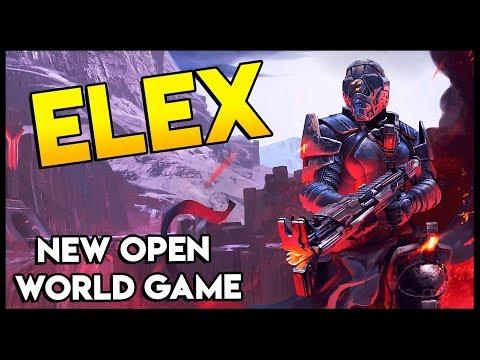 MAN CRASH LANDS ON PLANET! New Open World RPG Game - Elex Gameplay