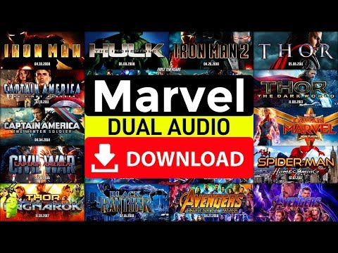 How To Download All Marvel Movies In Hindi+English [720p, 1080p]