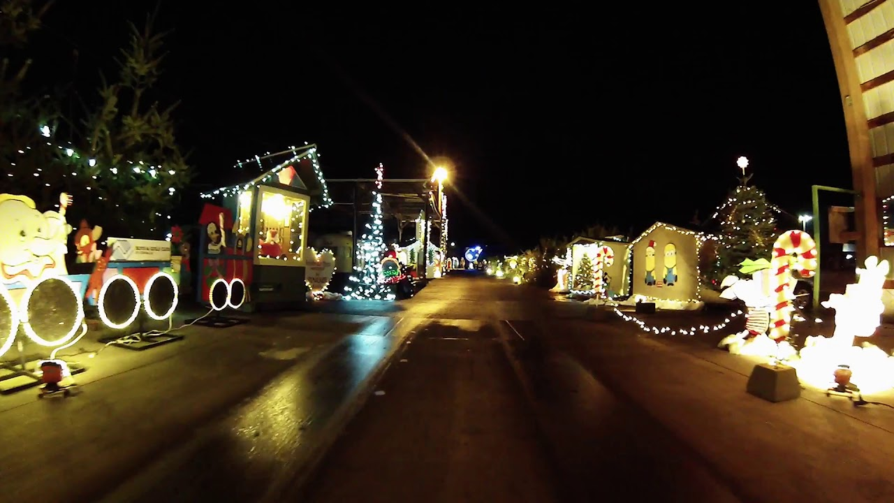 Pastega Christmas Lights Corvallis OR Fairgrounds (Former Pepsi