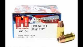 380 American Gunner Ballistic Gel Test