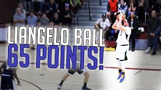 LiAngelo Ball Scores a Quiet 65 Points | FULL HIGHLIGHTS VS Foothill
