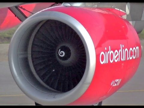CFM International 2x CFM56-5B4/3 Aircraft Engines on the Airbus A320 powerfull takeoff