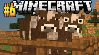 MCPE 0.15.6 REALMS SMP Ep. 6 - The Animal Farm! - Minecraft PE (Pocket Edition)