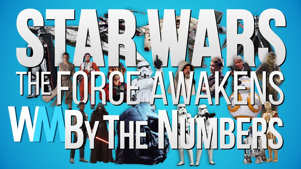 Star Wars The Force Awakens US Box fice By The Numbers