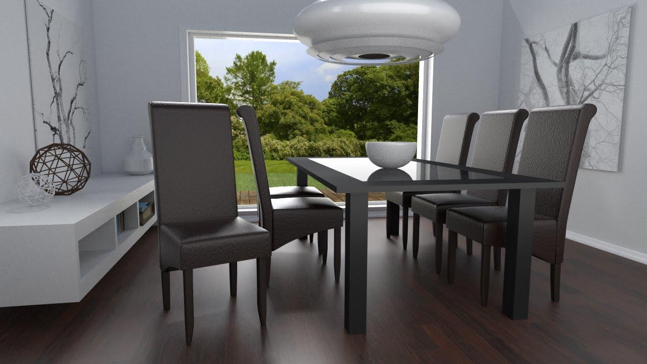 TecTake - Sedia Design per sala da pranzo - YouTube