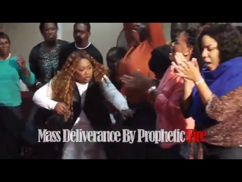 MUST SEE!! DELIVERANCE BY ELECTRICAL PROPHETIC LIQUID FIRE!!