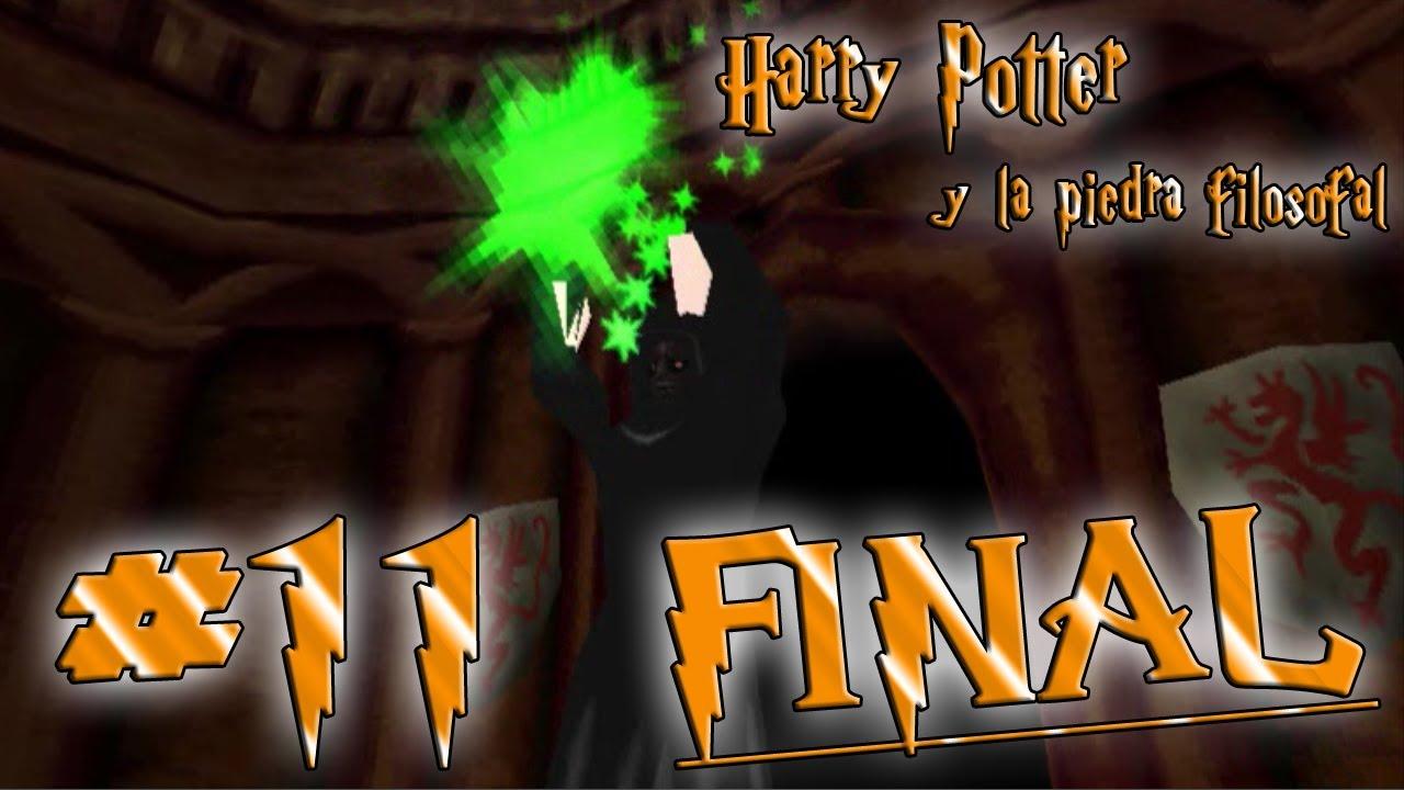 2ª Harry Potter Y La Piedra Filosofal Ps1 11 Final Troll Groggy
