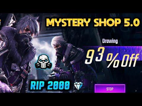 MYSTERY SHOP 5.0 - GARENA FREEFIRE    90% Discount BEST MYSTERY SHOP EVER 🤑