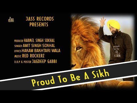 Proud To Be A Sikh | ( Full HD) | Amit Singh Sokhal | Red Rockerz | New Punjabi Songs 2019