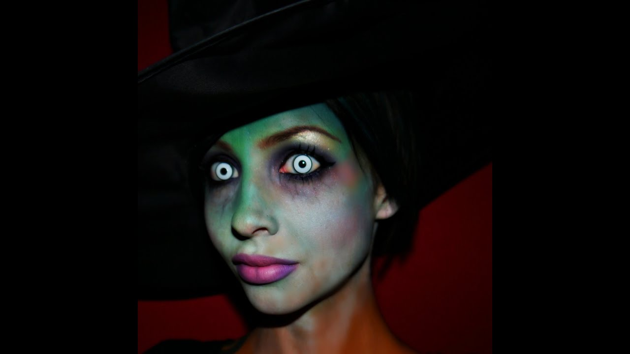Halloween 2014 Series Gradient Witch Makeup Tutorial