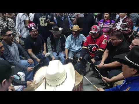 Blackfoot Confederacy Singers Bozeman 2017