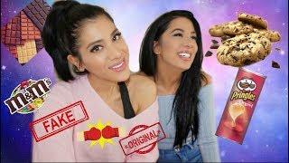 FAKE vs. ORIGINAL mit Sevin I Süssigkeiten im Test I Real + Aldi I Soraya Ali