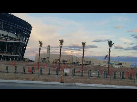 Raiders Allegiant Stadium Las Vegas Pt. 2 Field Tray Side