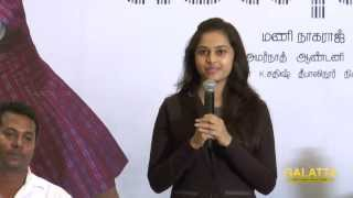 Sri Divya at Pencil Press Meet