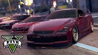 GTA V - Los Santos Street Racing !