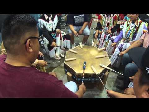 Mandaree Singers Shake Song   Painted Hand Casino Powwow 2015
