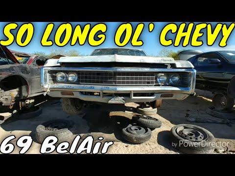 1969 Chevy Bel Air Junkyard Find