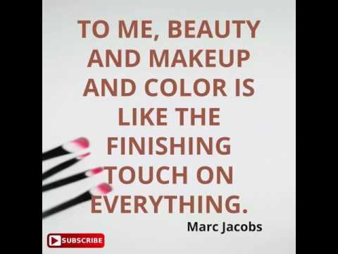 Makeup quotes about beauty