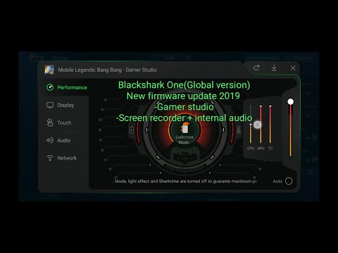 Blackshark One 2019,global Ver.Latest Firmware,Gamer Studio!!
