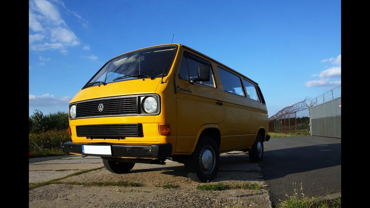 Volkswagen Transporter T3 Caravelle 1 6 D 1982 Rok Youtube