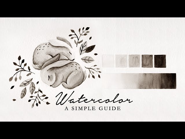 A Simple Beginners Guide to Watercolor!