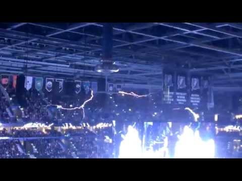 Tesla Coil At Lightning Game Youtube