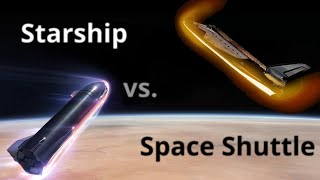 Thermal Protection System - Starship vs. Space Shuttle