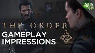 The ORDER 1886 Gameplay Impressions! Adam Sessler