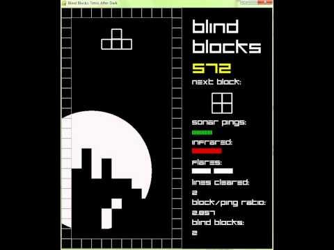 "Blind Blocks (""Tetris After Dark"" or ""Sonar Tetris""): Development Video #3"