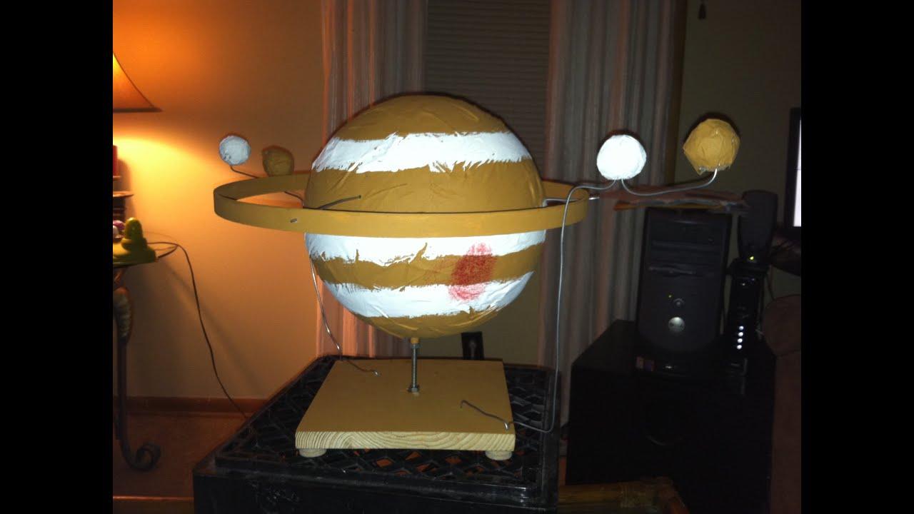 planet jupiter sytrofoam model - photo #19