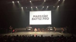 Marseille Battle Pro 2016 Bgirl Terra vs Bboy Spider Quarter Finals