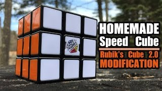 How To Convert Your Rubik's Cube 2.0 To A Speed Cube